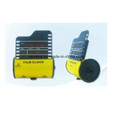 Despertador eletrônico da tabela do calendário do diodo emissor de luz Digital do projeto do rolo de película do presente