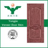 安いHDFのMDFによって形成される内部のベニヤのドアの皮