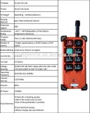Teledirigido de radio sin hilos para teledirigido de radio de la FCC del Ce eléctrico del encadenamiento F21-E1b para la grúa