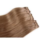 到着の卸売のRemyの人間の毛髪のSilklyの新しいまっすぐな織り方(BHF037)