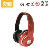Écouteur stéréo sans fil de Bluetooth de sport rouge