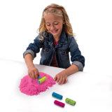 Sable sec magique de l'espace de la qualité DIY pour des jouets d'enfants