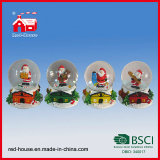 Christmas Souvenirs Snow Ball 산타클로스 Inside를 위한 눈 Globe
