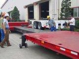 60 Tonnen-niedriger Bett-halb Schlussteil mit Behälter-Torsion 5