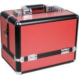 新しいデザイン専門アルミニウム携帯用美ボックス構成の虚栄心のケース(Bory-019)