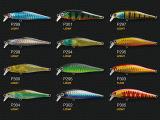 Attrait en plastique de pêche (vairon Hearted léger 65)