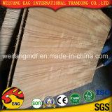 madera contrachapada natural de la suposición de la teca de 2.7m m