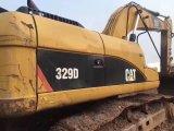 Escavatore utilizzato del gatto 329d fatto nel Giappone (escavatore 329d del cingolo del trattore a cingoli) per la vendita