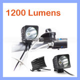 1200lm 1X CREE Xm-L T6 LED Headlamp Rechargeable Bicycle Light Bike Lamp