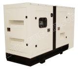 Ce/CIQ/Soncap/ISOの承認のパーキンズエンジン1103A-33tg1を搭載する45kVA極度の無声ディーゼル発電機