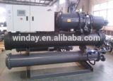 Refrigerador de agua refrigerado por agua industrial del tornillo 100kw 200kw 500kw