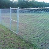 Galvanisierter Kettenlink-Ineinander greifen-Zaun