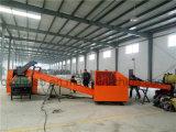 500 kg / h Rags corte de la máquina / máquina de algodón Trapos Reciclaje