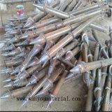 Vis au sol avec la bride pour la base de construction de bois de construction