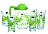 高品質のガラス水差しの一定のガラス製品の台所用品のKbJh06136