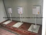 Het vouwen van het Toilet van Sanitaryware van de Container met de Montage van de Badkamers