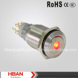 Push Button Switch con luz LED DOT