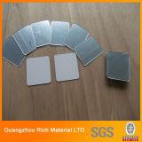 1mm 2mm 3mm Silver Plastic Mirror Feuille acrylique PMMA pour la coupe