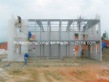 Stahlmodulares/bewegliches/Fertig/fabrizierten nach Maß lebendes Gebäude vor