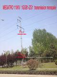 Monopole Megatro 110kv 1ggb1-Zg1 전송