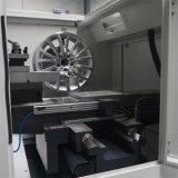 바퀴 닦는 기계 합금 바퀴 변죽 수선 선반 가격 Awr28hpc