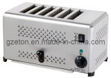 Ce Approved Hot Sales Commerical Toaster met 6slicers