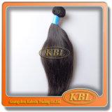 Het Braziliaanse Haar is de Onverwerkte Uitbreiding van het Haar