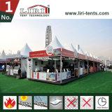 50 Pagode van de Tent van de Markttent Seater de Witte 5X5m Vierkante voor Sporten en Gebeurtenis