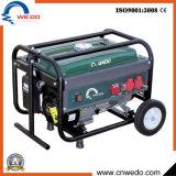 Wd 2kw/2.5kw/2.8kw 4 치기 세륨 (168F)를 가진 휴대용 가솔린 또는 휘발유 발전기