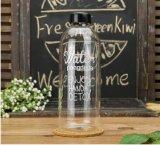 бутылка Resitance жары конструкции способа 1000ml/600ml портативная стеклянная для подарков