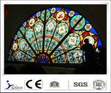 El vidrio del edificio de la seguridad que cercaba/templó el vidrio laminado para construir con precio de fábrica