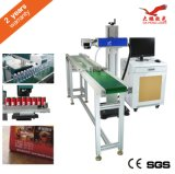 Uso da máquina da marcação do laser do CO2 para o metalóide