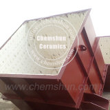 Mattonelle di ceramica Buner allineato, tramoggia, scivolo dell'allumina resistente all'uso