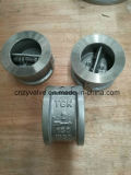 """API594 válvula de verificação bolacha de Wcb A216 aço molde Class150 2 da """""""
