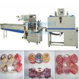 Machine automatique horizontale d'emballage en papier rétrécissable de la chaleur de flux de cuvette de gelée