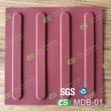 Ориентированная на заказчика плитка Durable 30*30cm резиновый вымощая тактильная