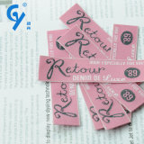 Carattere Design Highquality Woven Label per Garment Accessories