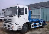 Dongfeng 4X2 225HP는 팔 10 톤 훅 쓰레기 트럭 가격을 복사한다