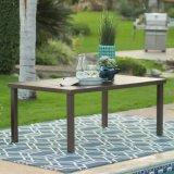جيّدة [فورنير] [رتّن] [ويكر] يتعشّى كرسي تثبيت وفولاذ [سلتّد] طاولة مجموعة