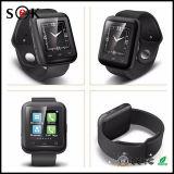2016 최신 판매 Bluetooth U9 Reloj Inteligente 착용할 수 있는 손목 시계 U9 지능적인 시계