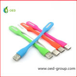 Colorful Bendable and Portable USB Mini LED Light USB Xiaomi Lamp LED USB Reading Light for Table and Computer
