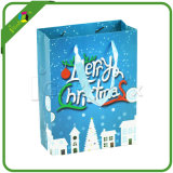 Bolso de papel impreso decorativo del regalo de la Navidad