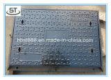 フレームが付いているOEMの鉄の鋳造のマンホールカバー
