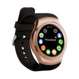 De ronde Slimme Sport Bluetooth Smartwatches van de Monitor van de Slaap van de Pedometer van Horloges voor Androïde