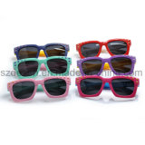 Подгонянные модные квадратные UV солнечные очки детей предохранения