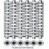 Rete metallica tessuta del tessuto normale/tessuto di saia/dell'acciaio inossidabile 316 del SUS 304 tessuto del Dutch