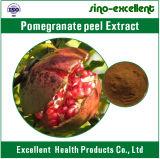 Extracto natural de la peladura de fruta de la granada