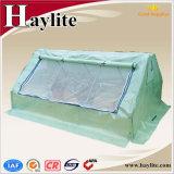 농업 PE UV-4에 의하여 직류 전기를 통하는 강관 프레임 녹색 집을%s 사용