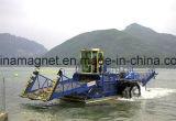 Lançamento da Weed-Estaca e navio de sega e de limpeza automático para a limpeza do mar