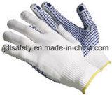 Nylon перчатка с ладонью поставленной точки PVC (S5103)